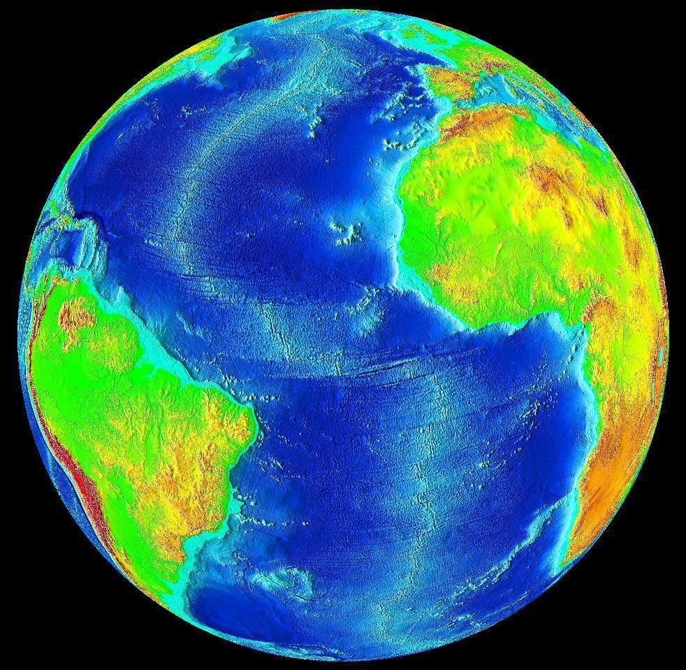 Standard atlantic ocean surface
