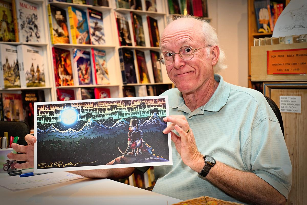 Standard cartoonist don rosa at osnabrueck 3 1