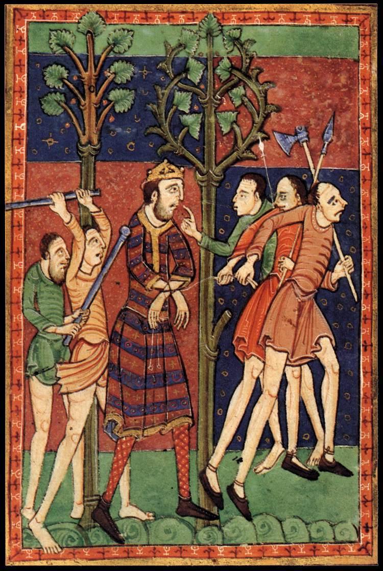 Standard 12th century painters   life of st edmund   wga15723 1