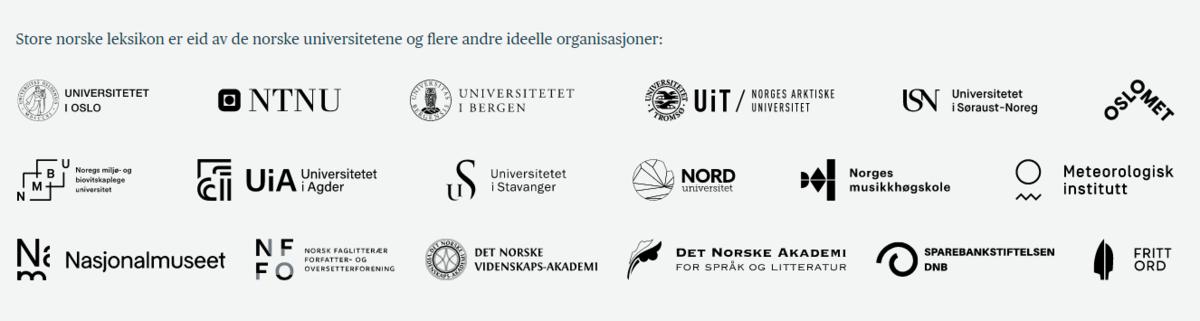 Standard store norske leksikon eiere