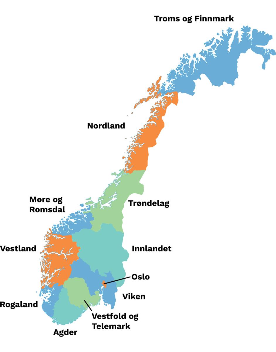 Fylker I Norge