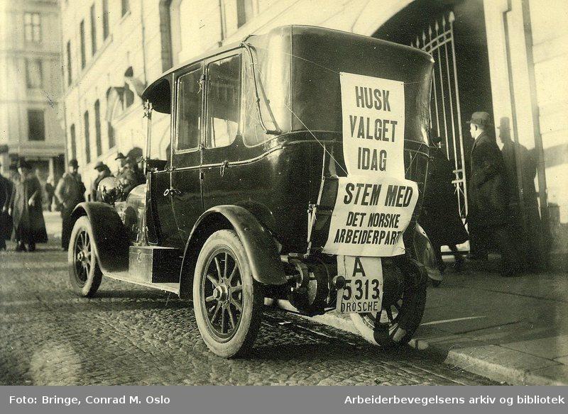 Standard valgkamp bil