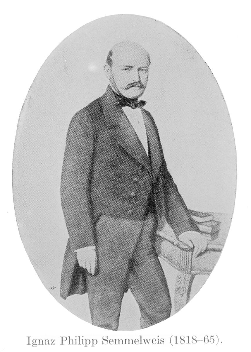 Standard portrait of ignaz philipp semmelweis  1818   1865  wellcome m0000116