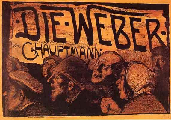 Standard die weber 1897 by emil orlik