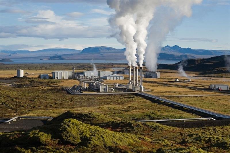 Standard geotermisk kraftverk