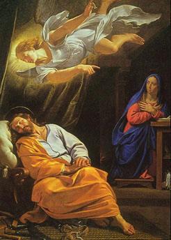 Standard the dream of saint joseph