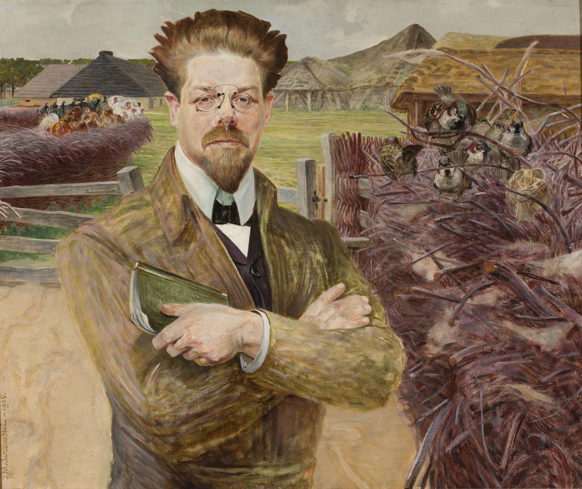 Standard jacek malczewski   portret władysława reymonta
