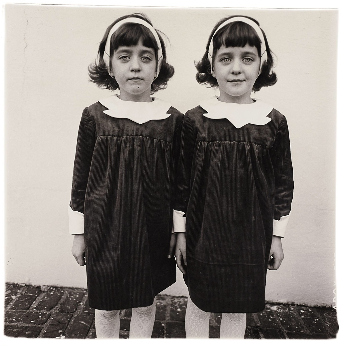Standard twins diane arbus photo