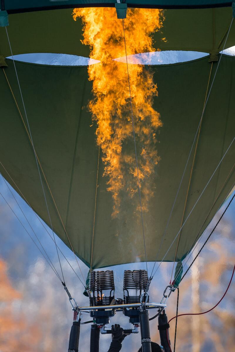 Standard luftballong