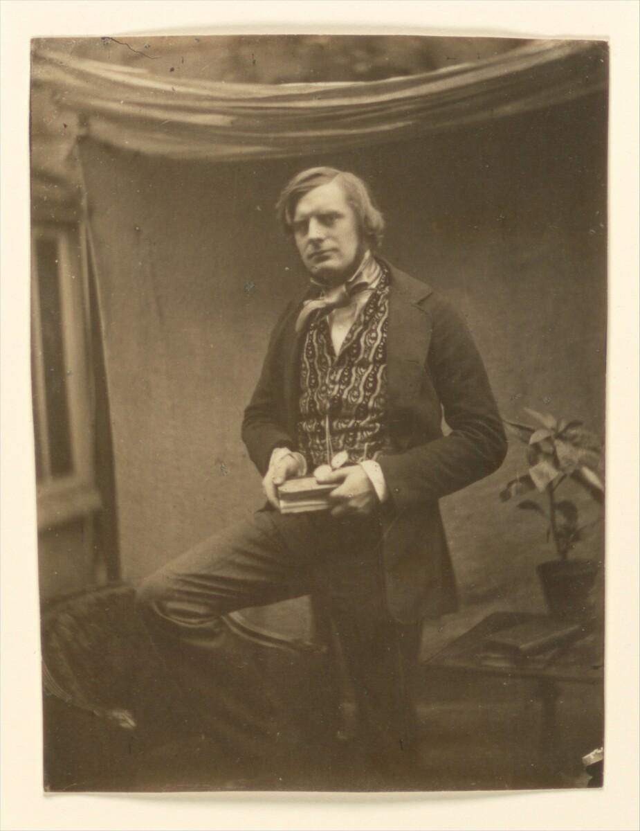 Standard roger fenton 1852 self portrait