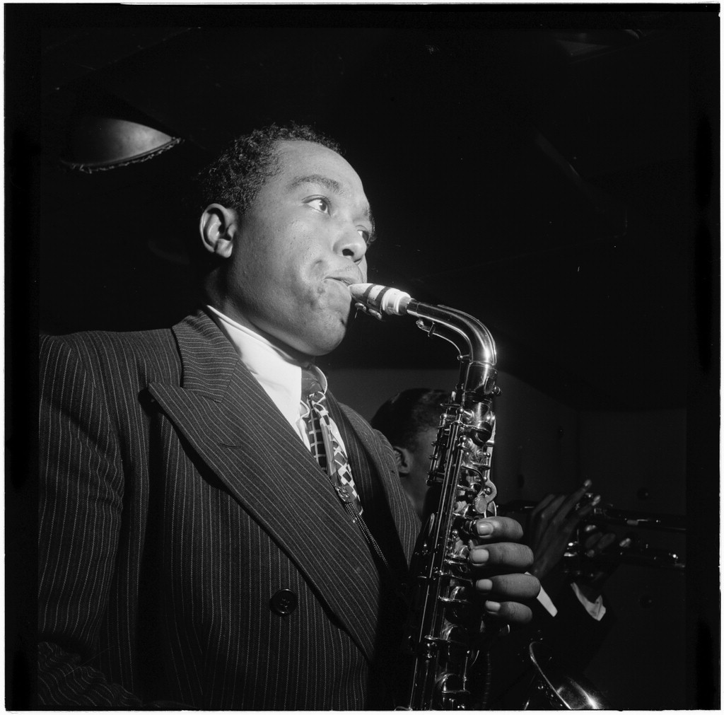 Standard portrait of charlie parker in 1947