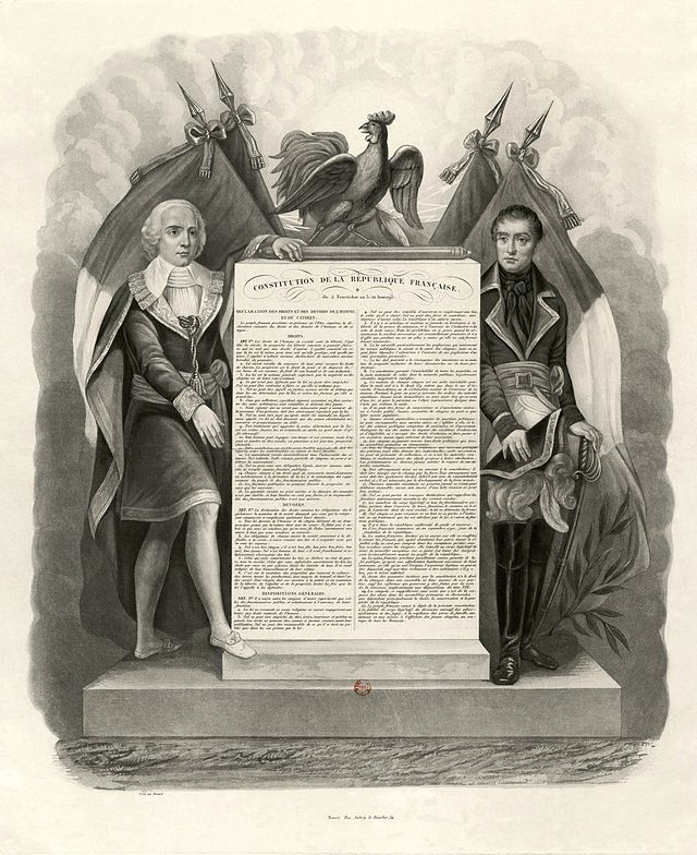 Standard constitution 1795