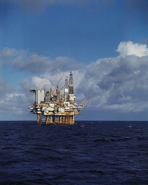 Standard ekofisk 2 4 b oljeplatform  dex kf 000632