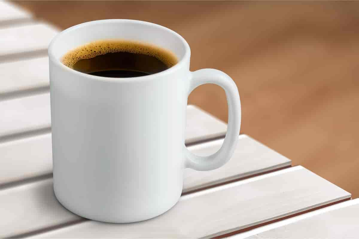 mg koffein i en kopp kaffe
