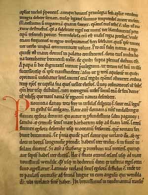 Standard utdrag ur gesta hammaburgensis ecclesiae pontificum