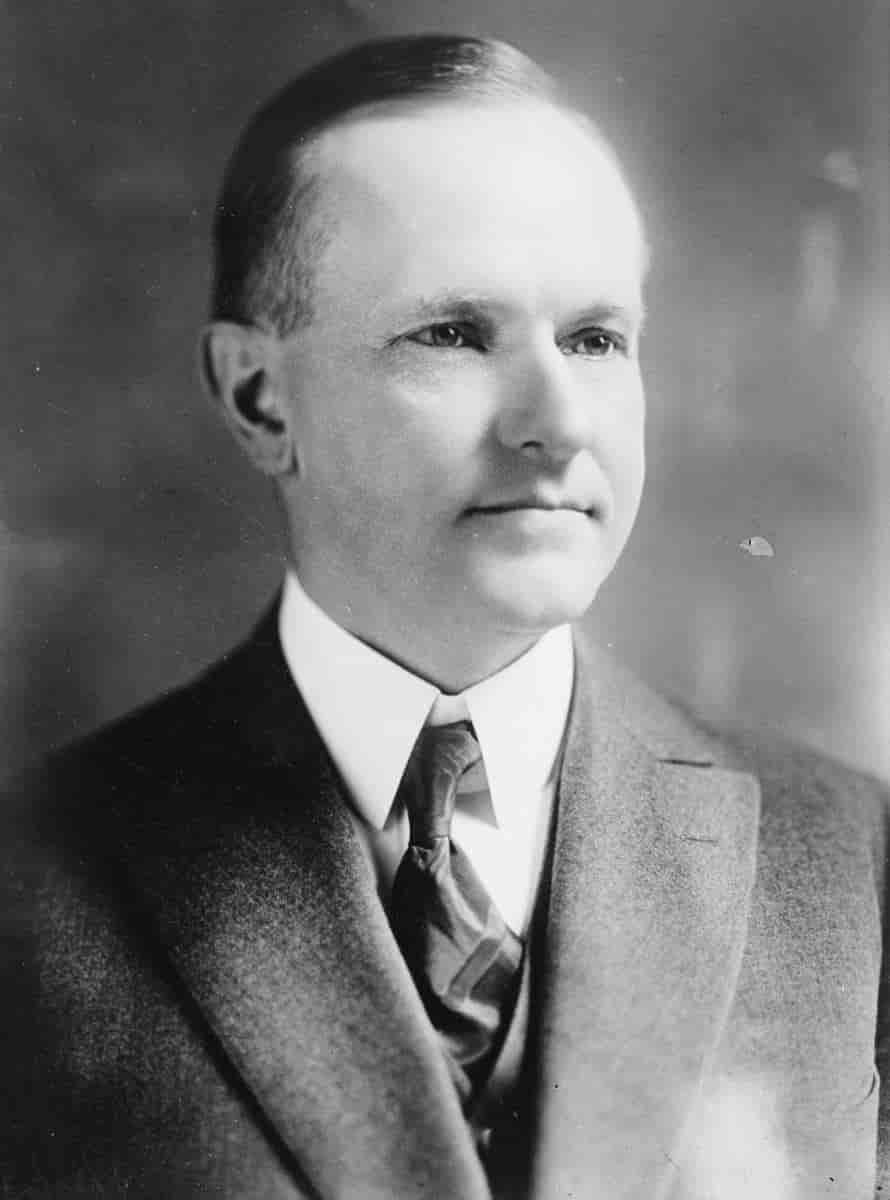 Poet Calvin Coolidge