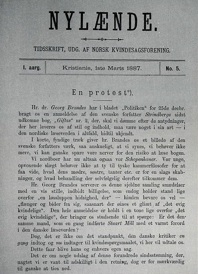 Standard nyl nde 1ste marts 1887