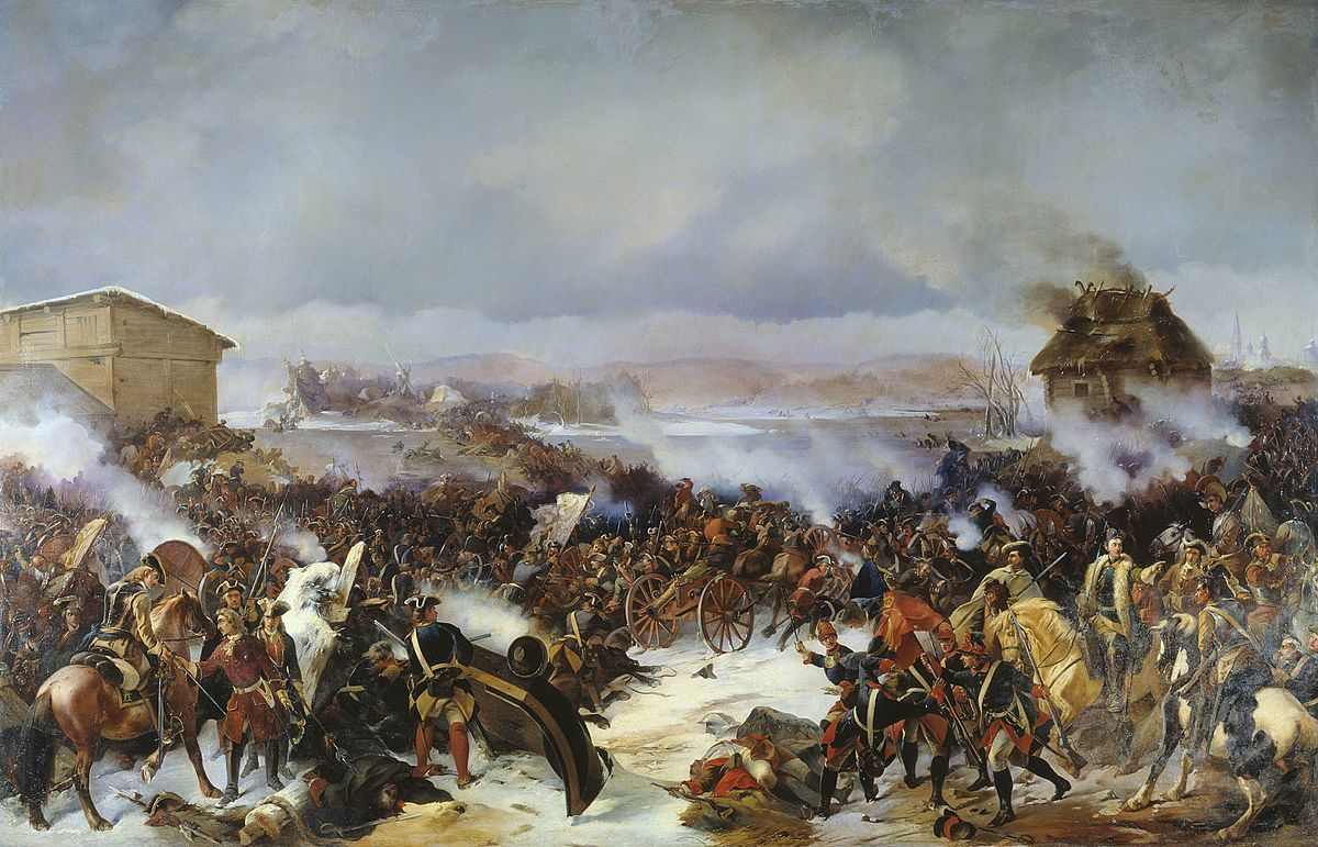 Standard battle of narva 1700
