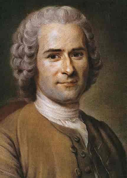 Poet Jean-jacques Rousseau