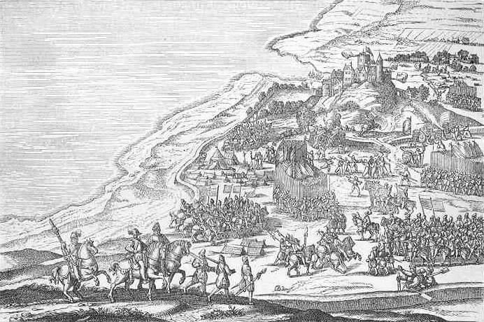 Standard fredrik ii conqueres  lvsborg 1563