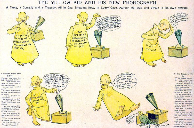 Standard yellowkid phonograph 1
