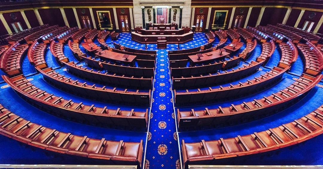 Standard united states house of representatives chamber