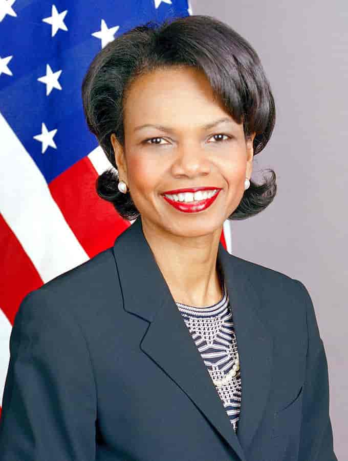 Poet Condoleezza Rice