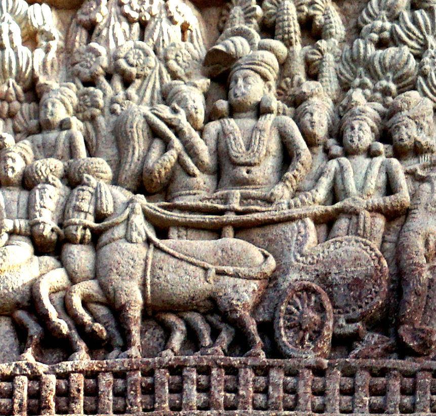 Standard ashoka s visit to the ramagrama stupa sanchi stupa 1 southern gateway