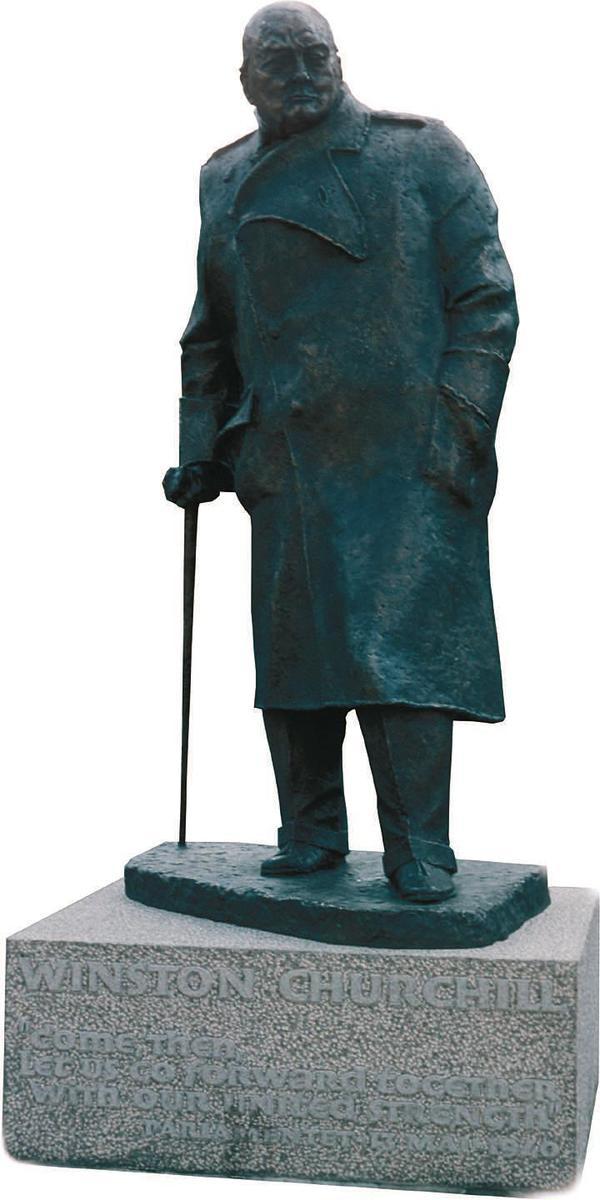 Standard churchill winston statue