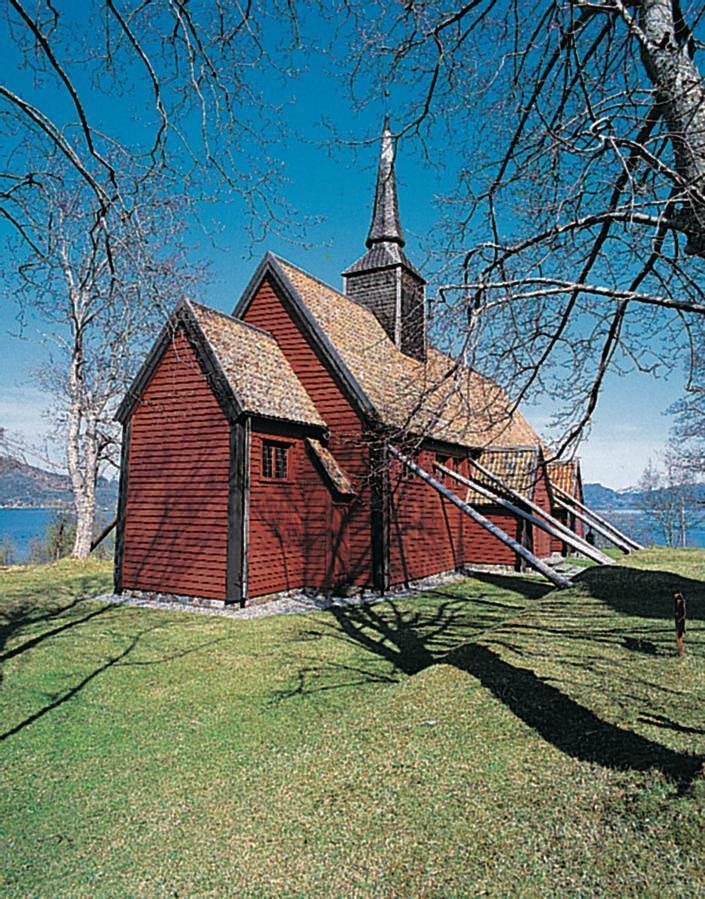 Standard kvernes stavkirke
