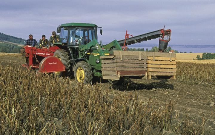 Standard landbruksmaskiner potetopptaker