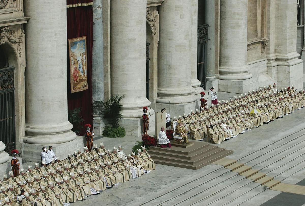 Standard katolske kirke pave