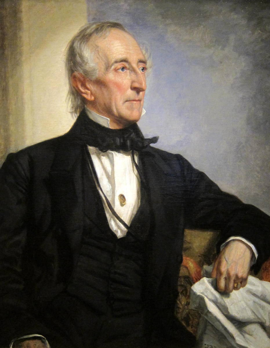 Standard john tyler by george p. a. healy