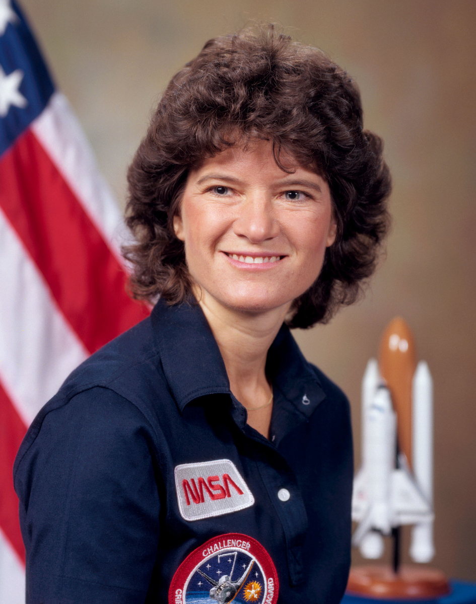 Standard sally ride in 1984