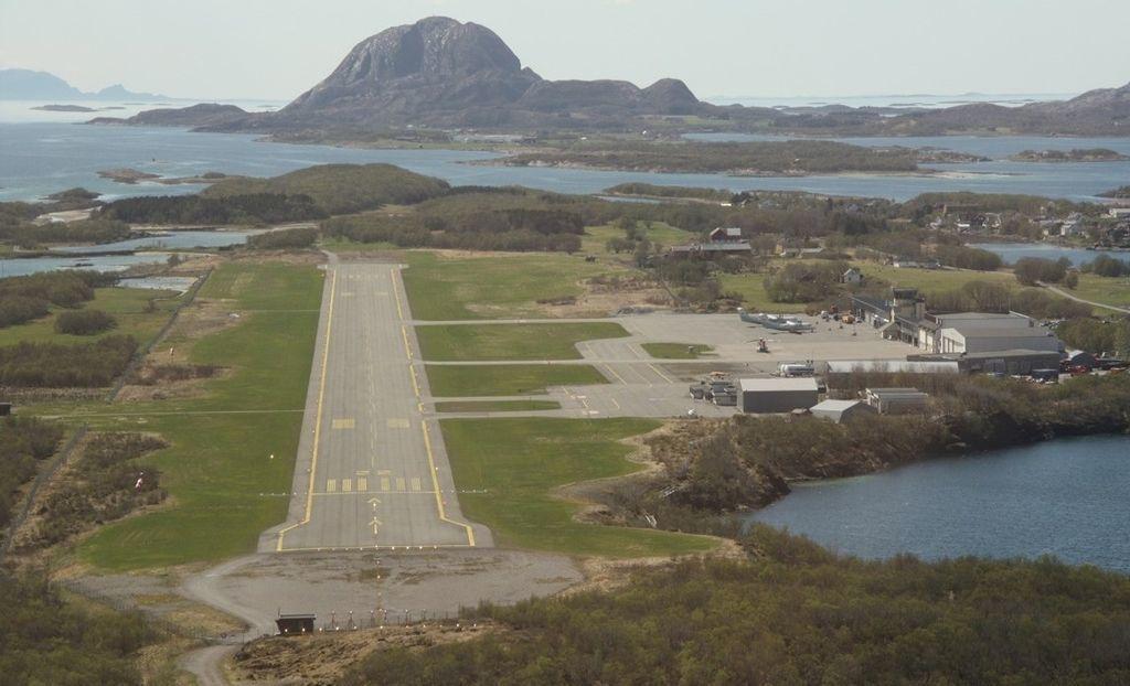 Standard brønnøysund lufthavn