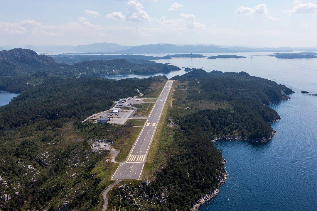 Standard stord lufthamn