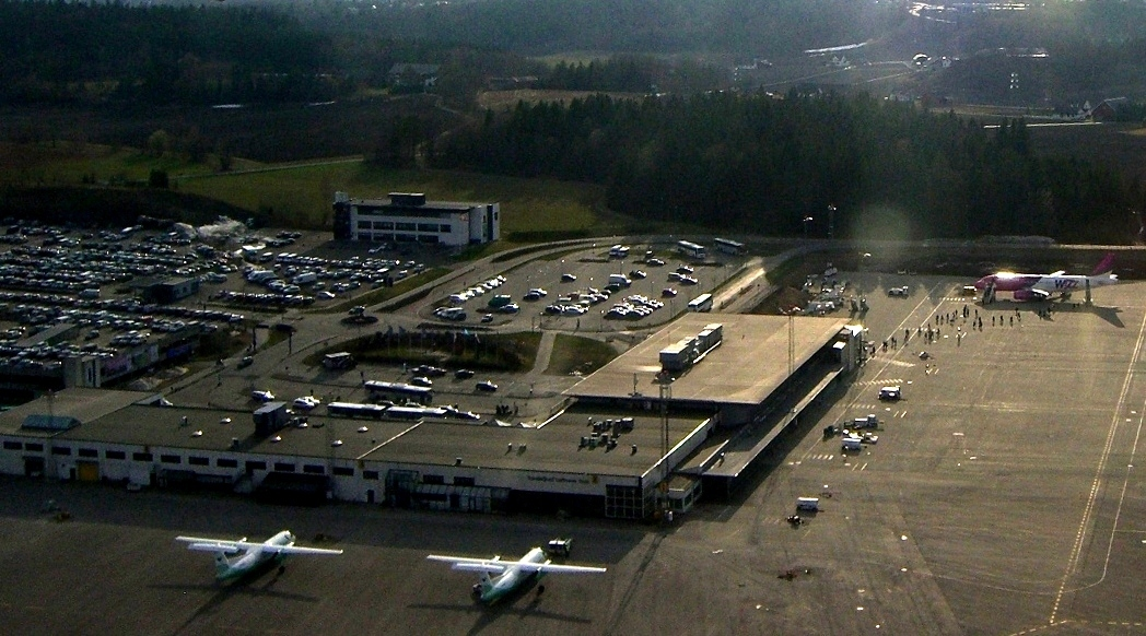 Standard sandefjord airport  torp from the air cropped  2