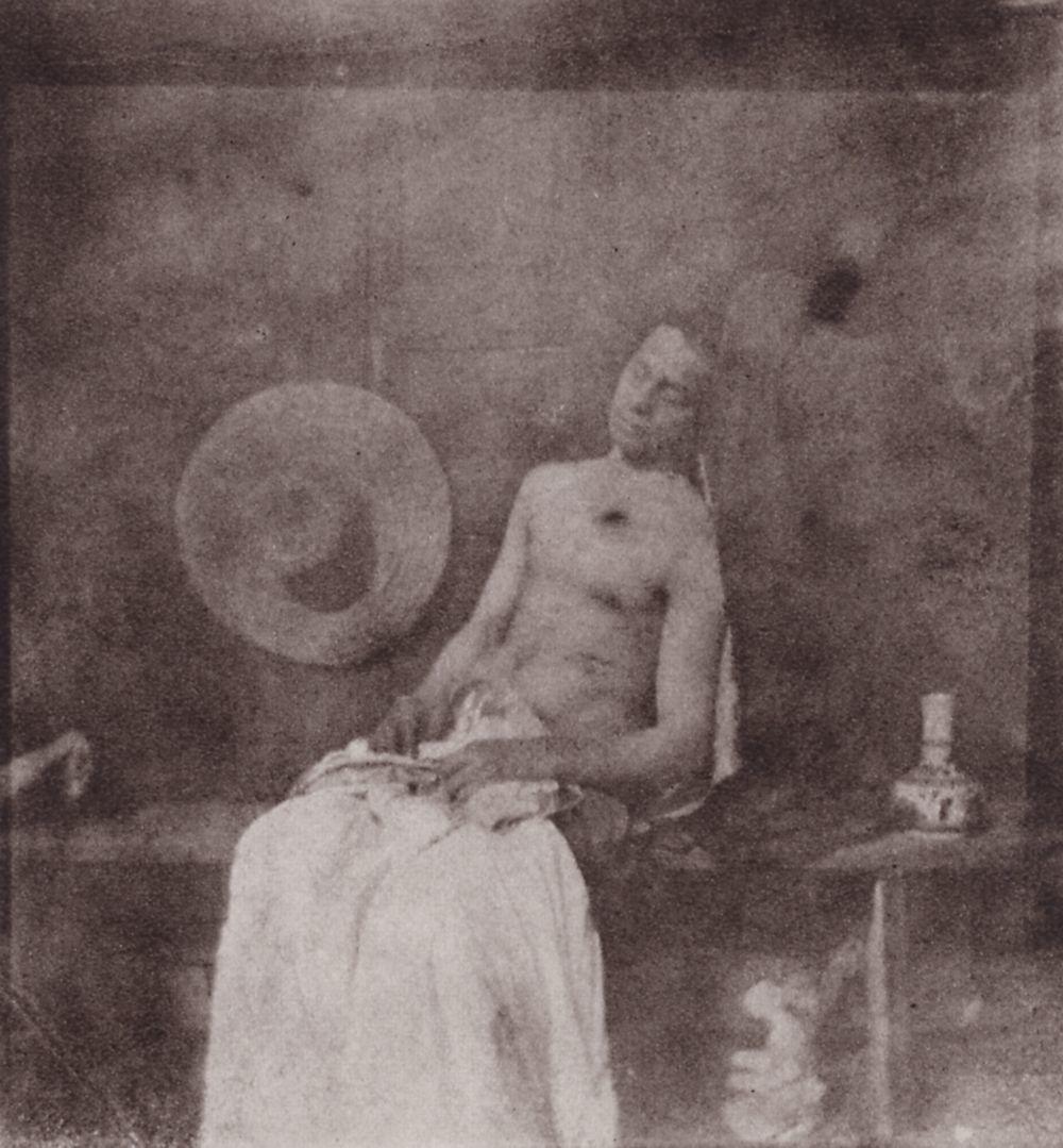Standard bayard  hippolyte   selbstporträt bayards als ertrunkener  zeno fotografie