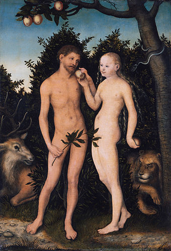 Standard lucas cranach the elder   adam und eva im paradies  sündenfall    google art project