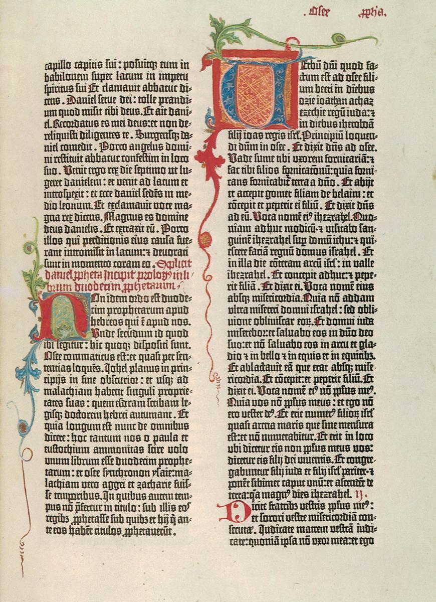 Standard gutenberg bibel
