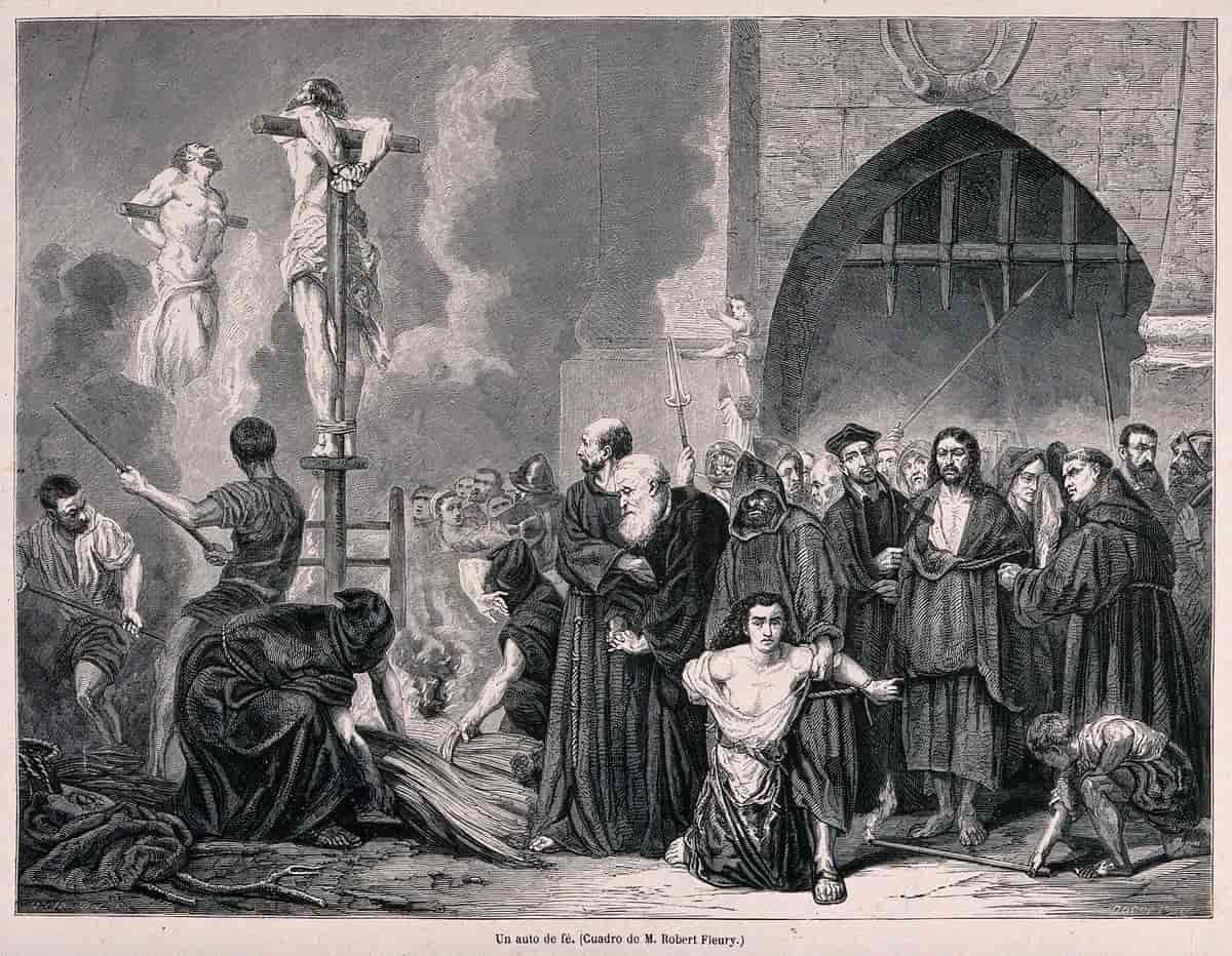 Den spanske inkvisisjonen – Store norske leksikon