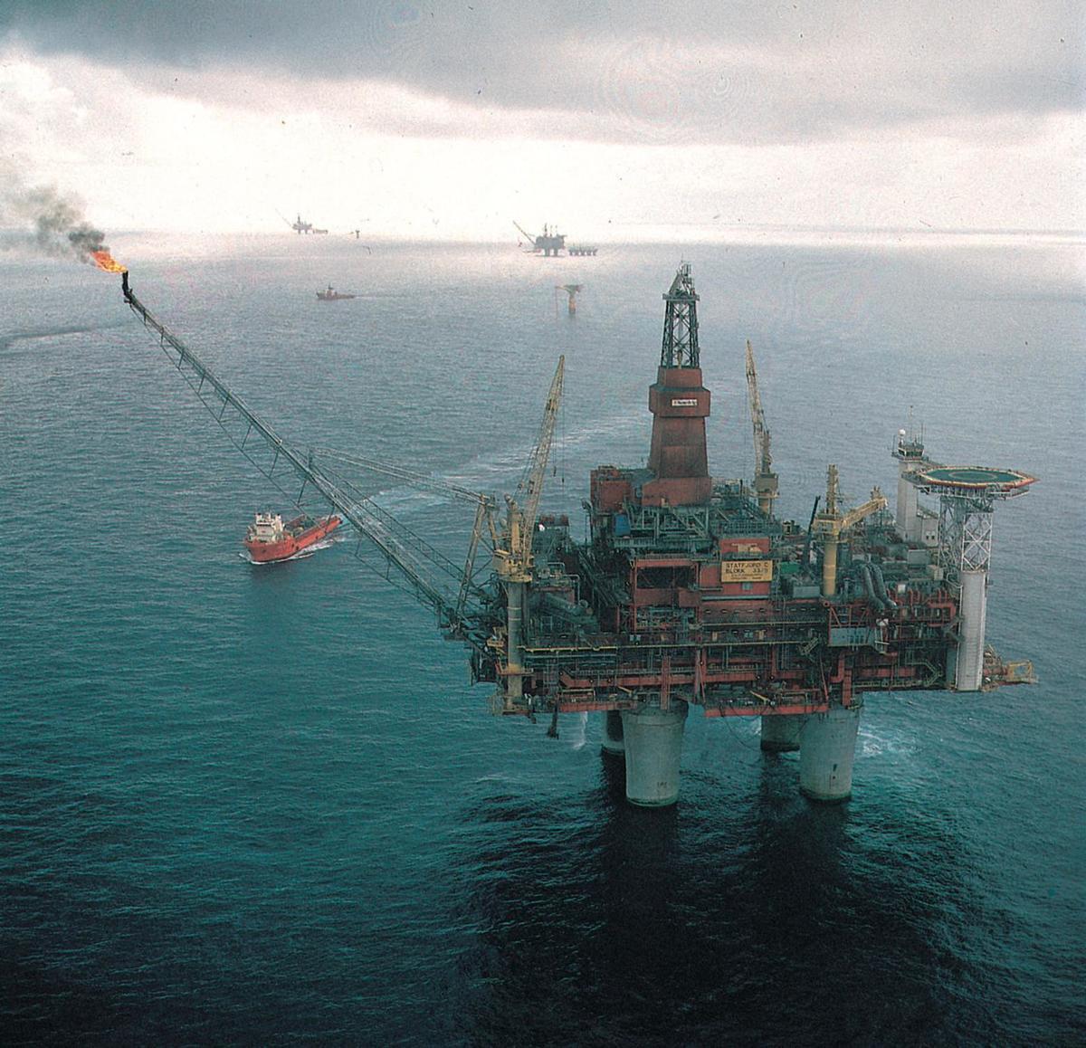 Standard statfjordfoto