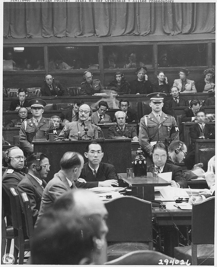 Standard japanese war crimes trials. manila   nara   292612